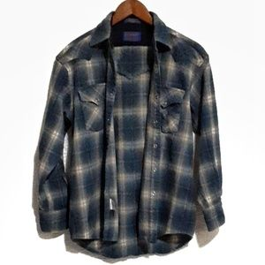 Vintage Pendleton Board Shirt Snap/Washable
